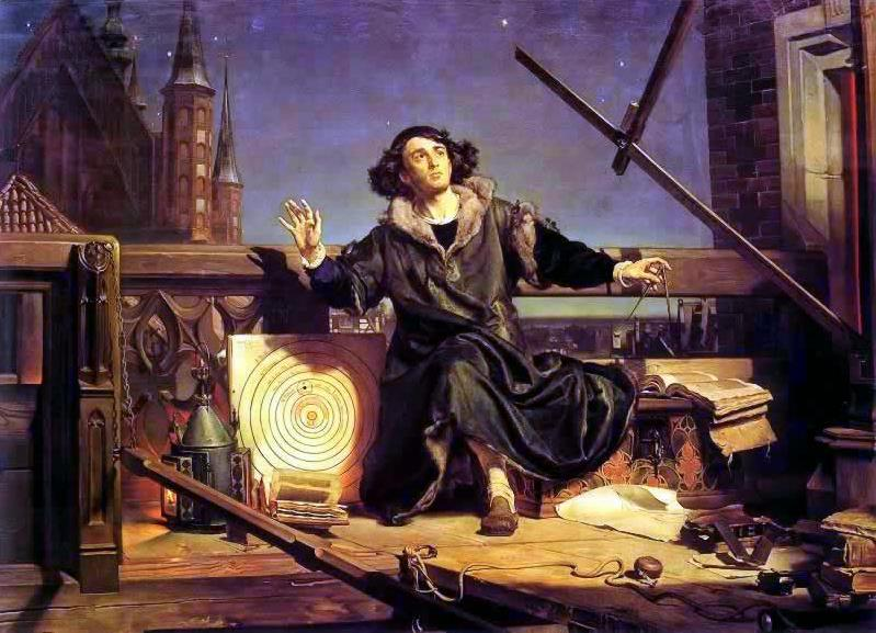 jan matejko astronomer copernicus conversation with god